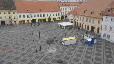 Webcam Piata Mare Cam 2 Sibiu