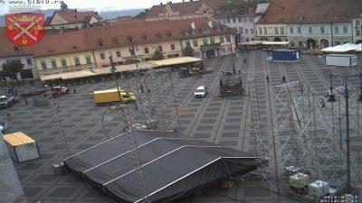 Webcam Piata Mare Cam 3 Sibiu