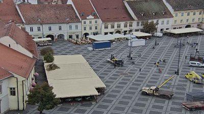 Webcam Piata Mare Cam 4 Sibiu