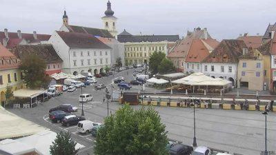 Webcam Piata Mica Cam 2 Sibiu