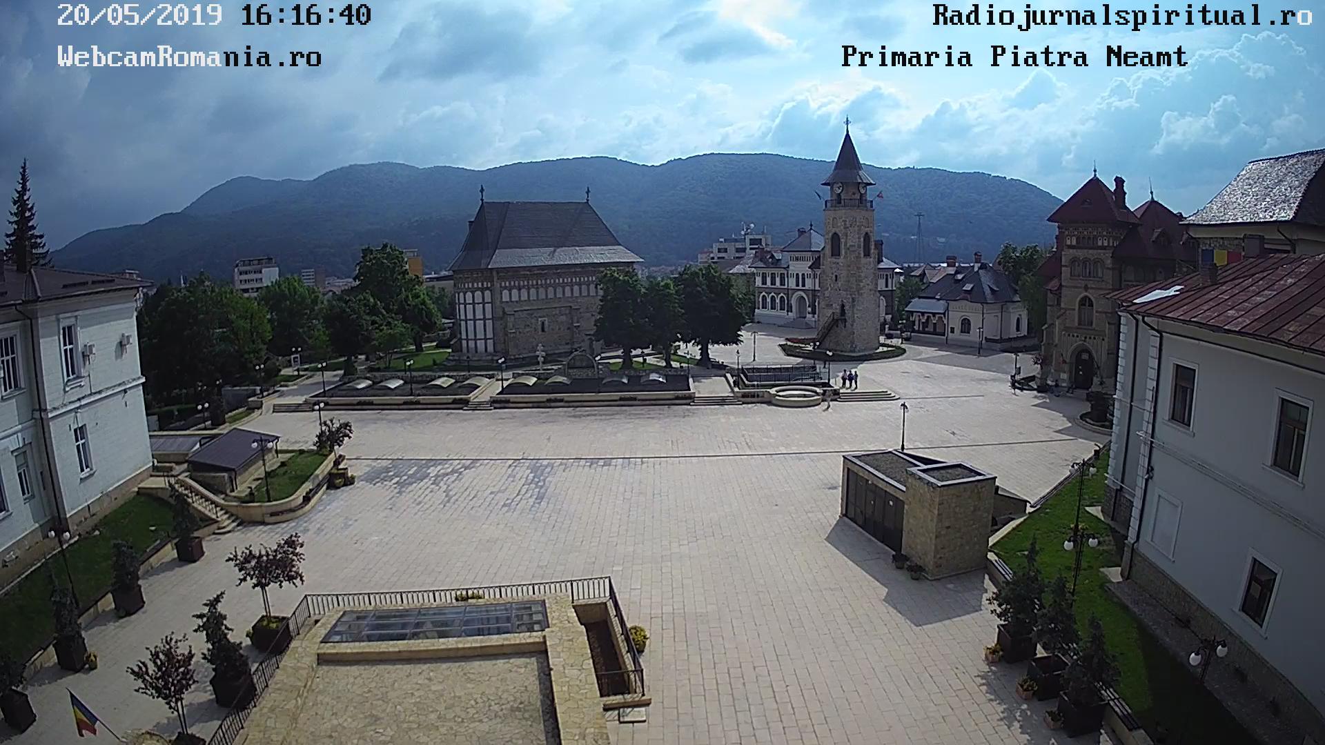 Webcam Piatra Neamt Camere Live Curtea Domneasca Jud Neamt